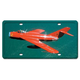 MIG-17 License Plate Cover