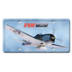 F6F HellCat License Plate Cover