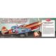 P-40 Warhawk WWII Balsa Wood Fighter Model Kit