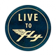 Live To Fly Large Aviation Metal Sign