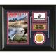 USMC Framed Desktop Display Photo Mint with Bronze Collectors Coin