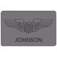 Personalized Pilot Wings Doormat