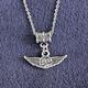 Pilot Wings Necklace