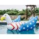 Giant Bald Eagle American Flag Pool Float