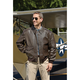 Current Issue A-2 Leather Flight Jacket