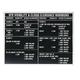 VFR Minimums Placard (3 in. x 4 in.)