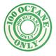 100 Octane Decal (Green)