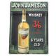 Jameson Whiskey Metal Bar Sign