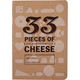 33 Pieces of Cheese Tasting Notebook