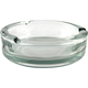 Cigar and Cigarette Heavy Glass Tabletop Ashtray - 5 3/4