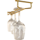 Glass Hanger Rack - Brass - 10