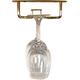 Glass Hanger Rack - Brass - 24