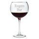 Red Wine Glasses with Free Personalization - Set of 4