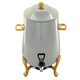 Stainless Steel Coffee Urn with Gold Accents - 3 Gal
