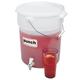 Cambro Bucket Beverage Dispenser with Handle - 6 Gal