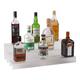 24-inch 3 Tier Liquor Bottle Shelf - Translucent