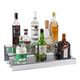 24-inch 3 Tier Liquor Bottle Shelf - Mirror Finish