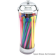 Old Fashioned Retro Pull-Up Acrylic Straw Dispenser
