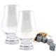 Glencairn Whiskey Gift Set - Whiskey Stones & 2 Glasses