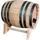 Wine Dispensing Oak Barrel with Wooden Stand - 5 Liter