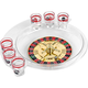 Roulette Shot Glass Drinking Game Set
