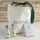 Seedlip Distilled Non-Alcoholic Spirits Gift Set - Includes 200ml Bottles of Spice 94 & Garden 108, Tote Bag & Cocktail Recipe Booklet