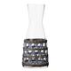 Amanda Lindroth Woven Light Blue Island Raffia Wrapped Carafe - 36 oz