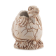 Mondo Jurassic Park Baby Raptor Handmade Ceramic Tiki Mug - Fossil Brown Glaze - 16 oz