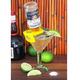 CoronaRita Yellow Drink Clips - For Slanted Margarita Glasses - Pack of 4