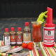 Demitri's Bloody Mary Seasoning Mix Tailgate Party Kit - 8 Piece Set