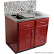 Glastender Stainless Steel Finished Home Bar Countertop