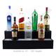 2 Tier Lighted Liquor Bottle Bar Shelves
