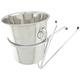 Wine Bucket & Tableside Wine Bucket Support Stand Set