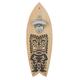 Tiki Surfboard Shaped Wall Mounted Bottle Opener