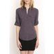 Charcoal Sheri Collar Shirt