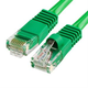 Cat5e Ethernet Network Patch Cable 350 MHz RJ45 – 3 Feet Green