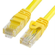 Cat6 500MHz UTP Ethernet LAN Network Cable - 25 Feet Yellow