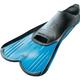 Cressi Light Short Swim Full Foot Fins 1/2 Blue
