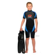 Pinnacle Spirit 3mm Kids Shorty, Black/Marine Blue