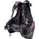 Cressi Travelight Women's BCD, Black/Pink Medium