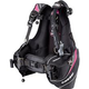 Cressi Travelight Women's BCD, Black/Pink