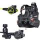 Zeagle F8 Regulator, Octopus & Halo BCD