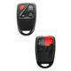 1AKRR00040-Mazda 6 Keyless Remote Insert & Case  Dorman 13630