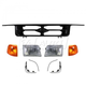 1ABGK00020-1995-97 Ford Ranger Grille  Headlights & Corner Lights Kit