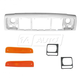 1ABGK00026-1997-01 Jeep Cherokee Header Panel  Marker Light  & Headlight Bezel Kit