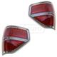 FDLTP00010-2009-14 Ford F150 Truck Tail Light Pair