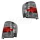 FDLTP00011-2008-11 Mercury Mariner Tail Light Pair  Ford OEM 8E6Z-13405-A  8E6Z-13404-A