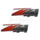 GMBMK00039-Chevy Nameplate Pair  General Motors OEM 10362941