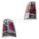 MPLTP00004-2006-09 Mitsubishi Raider Tail Light Pair  Mopar 55077742AC  55077743AC