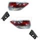 1ALTP00986-2014-16 Toyota Highlander Tail Light Pair